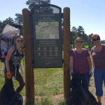 Clean Up Day at Fillius Park